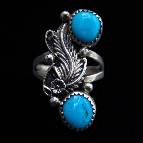 Florence Tahe Turquoise Ring