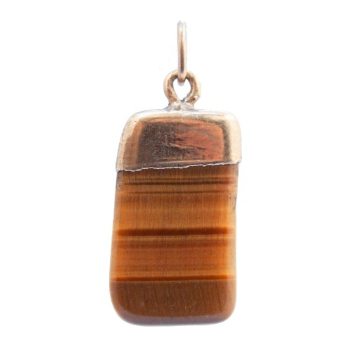 Gold Plated Tiger's Eye Necklace