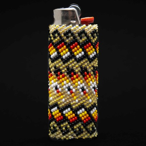 Large Colourful Beaded Lighter