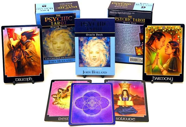 Psychic Tarot Oracle Deck - John Holland