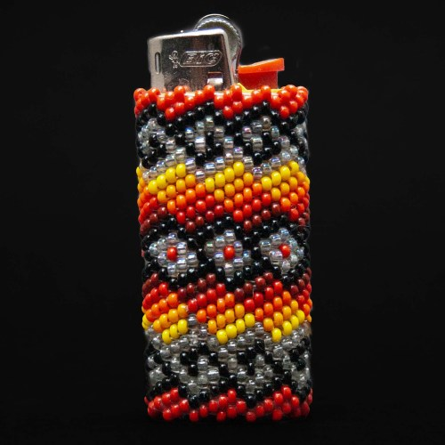 Small Tribal Beaded Lighter