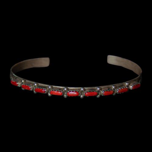 Thin Coral Bracelet