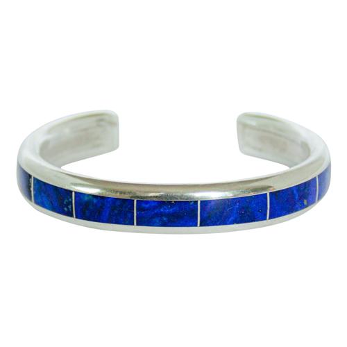 Larry Loretto Silver Lapis Bracelet