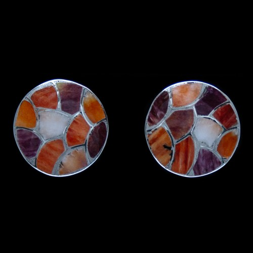 Carmichael Haloo Spondylus Clip-On Earrings