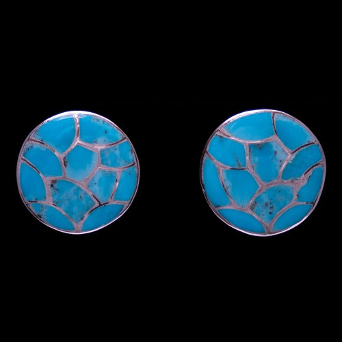 Carmichael Haloo Turquoise Clip-On Earrings