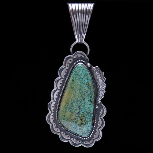 Large Kee Cook Turquoise Pendant