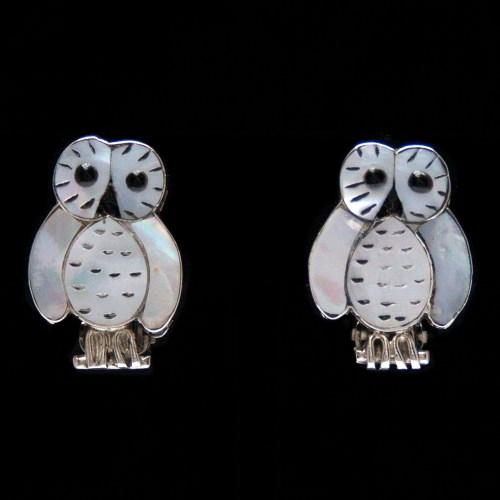 Reginda Kallestewa Owl Clip-On Earrings