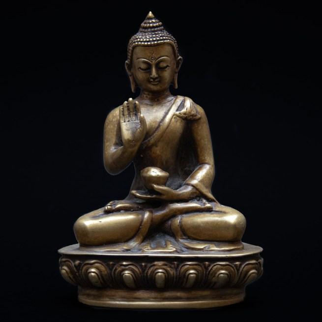 Statue Bouddha Abhaya Mudra