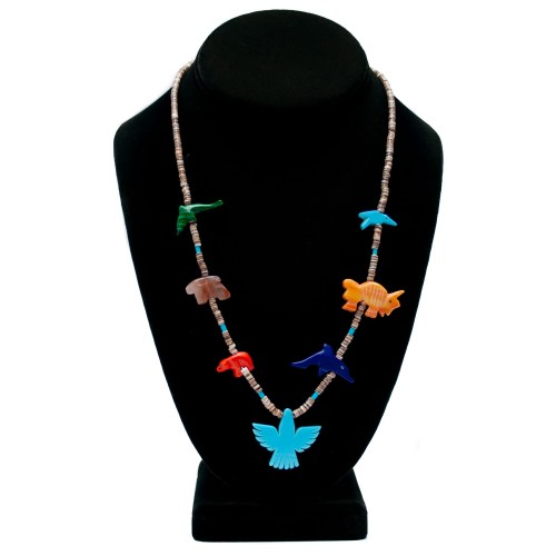 Native American Animal Necklace