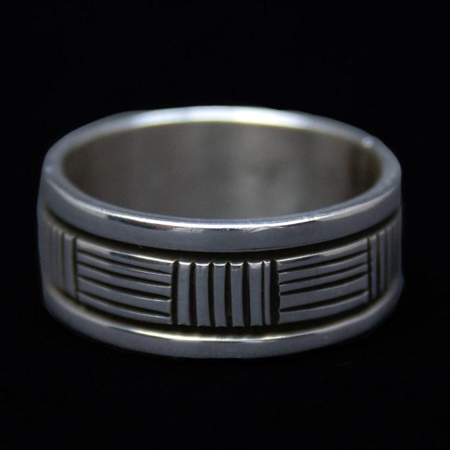 Bruce Morgan Navajo Silver Ring