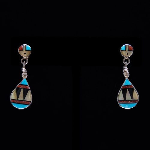 Ola Eriacho Zuni Earrings