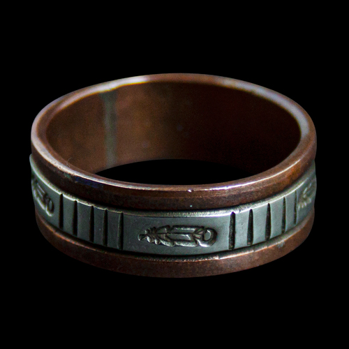 Wylie Secatero Copper Ring