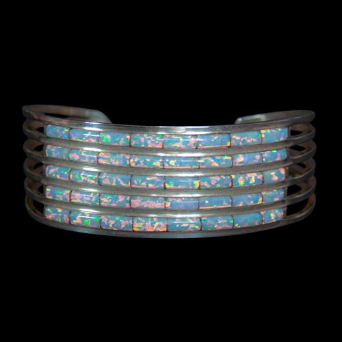 Five Row Opal Bracelet