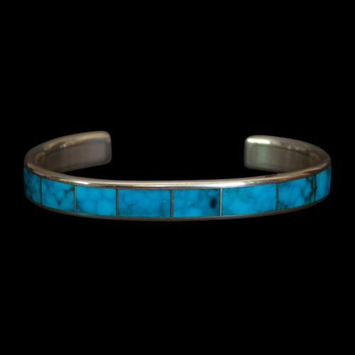 Large Loretto Turquoise Bracelet