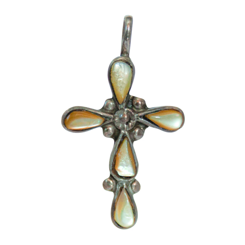 Small Mother-of-Pearl Cross