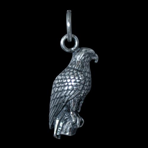 Small Silver Eagle Pendant