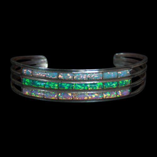 Triple Row Opal Bracelet