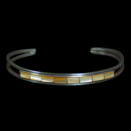 Yellow Mother of Pearl Bracelet
