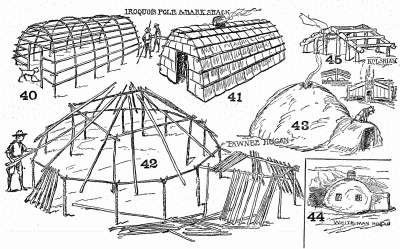 adobe huts Colouring Pages