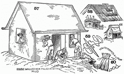 How to Make a Sod House