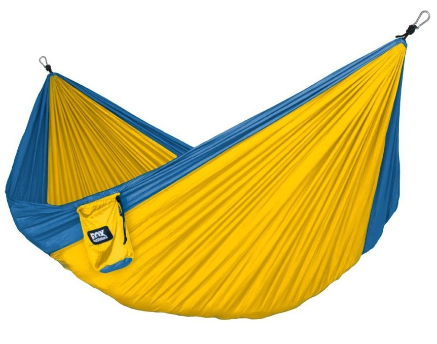 top 10 hammocks for camping Fox Outfitters Neolite Trek Parachute Hammock 1