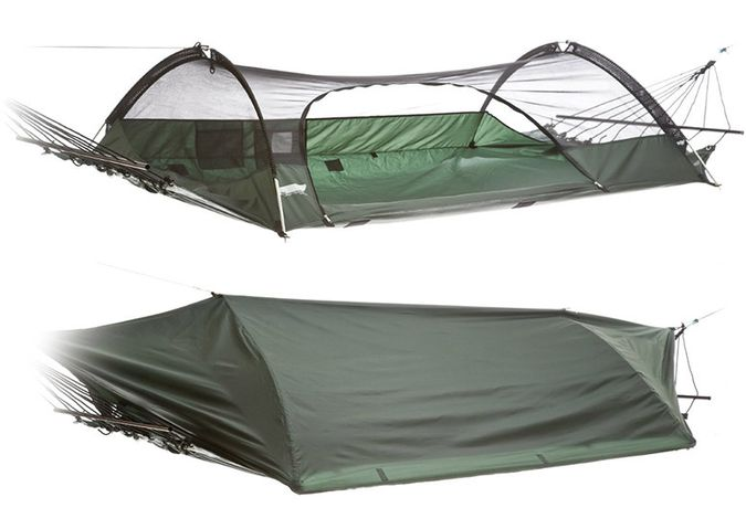 top 10 hammocks for camping The Lawson Blue Ridge Hammock Tent Allows You To Mount Your Tent In Trees