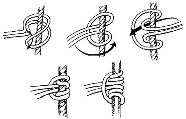 How to tie a Prusik knot