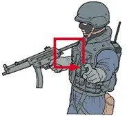 Hand signal for window