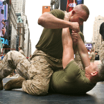 The five tactical rules to follow in a close combat situation.