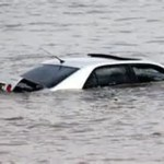 How to escape a car that has been submerged under water