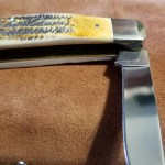 Case large stockman pocketknife opened