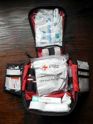 Wilderness First Aid Kit Create Your Own