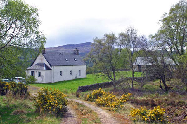 Secluded Holiday Cottage In Glenurquhart Loch Ness Scotland