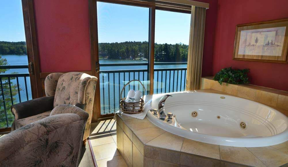 lodge sofa beach oz design 3 bedroom lake condo with loft | wilderness on the ...
