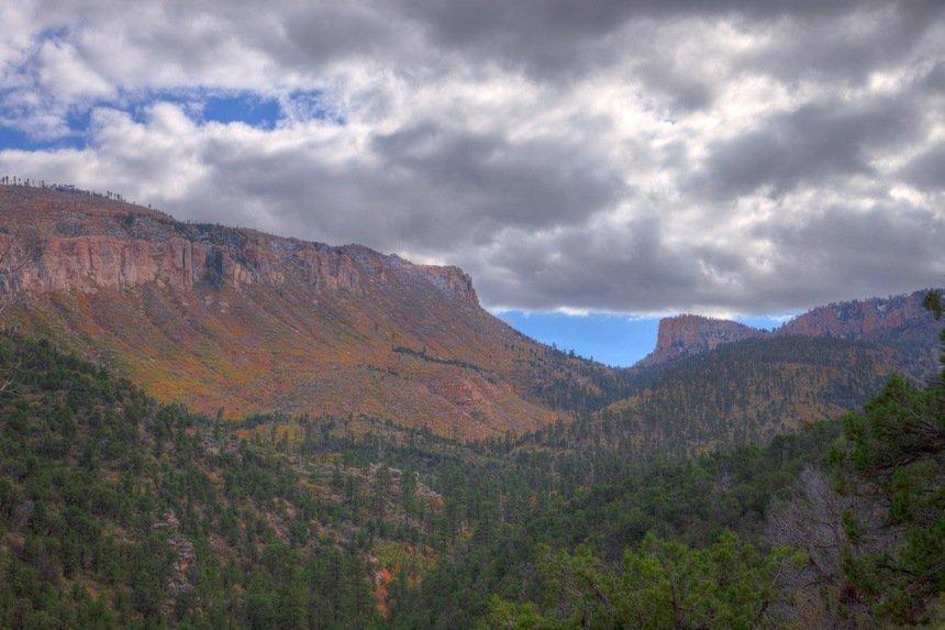 AZ-Grand Canyon-N Rim-Saddle Mt.Wilderness-Nankoweep Trail
