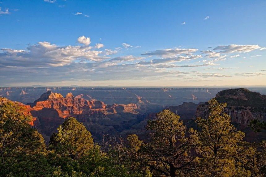 Sunset at Lodge North Rim Grand Canyon
