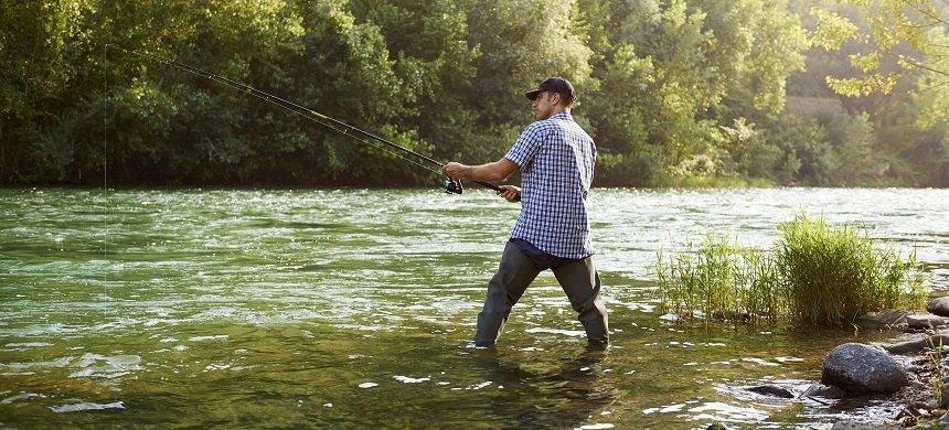 Approaching a Fishing Lie