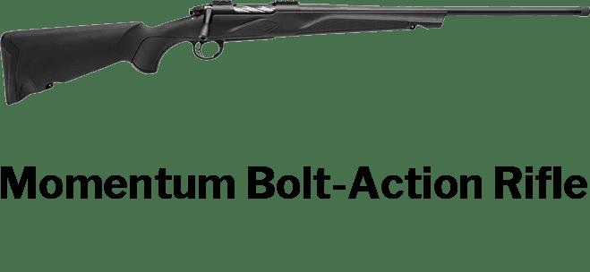 momentum bolt action rifles