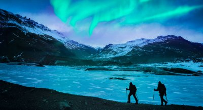 Iceland's Northern Lights - Itinerary & Map - Wilderness ...
