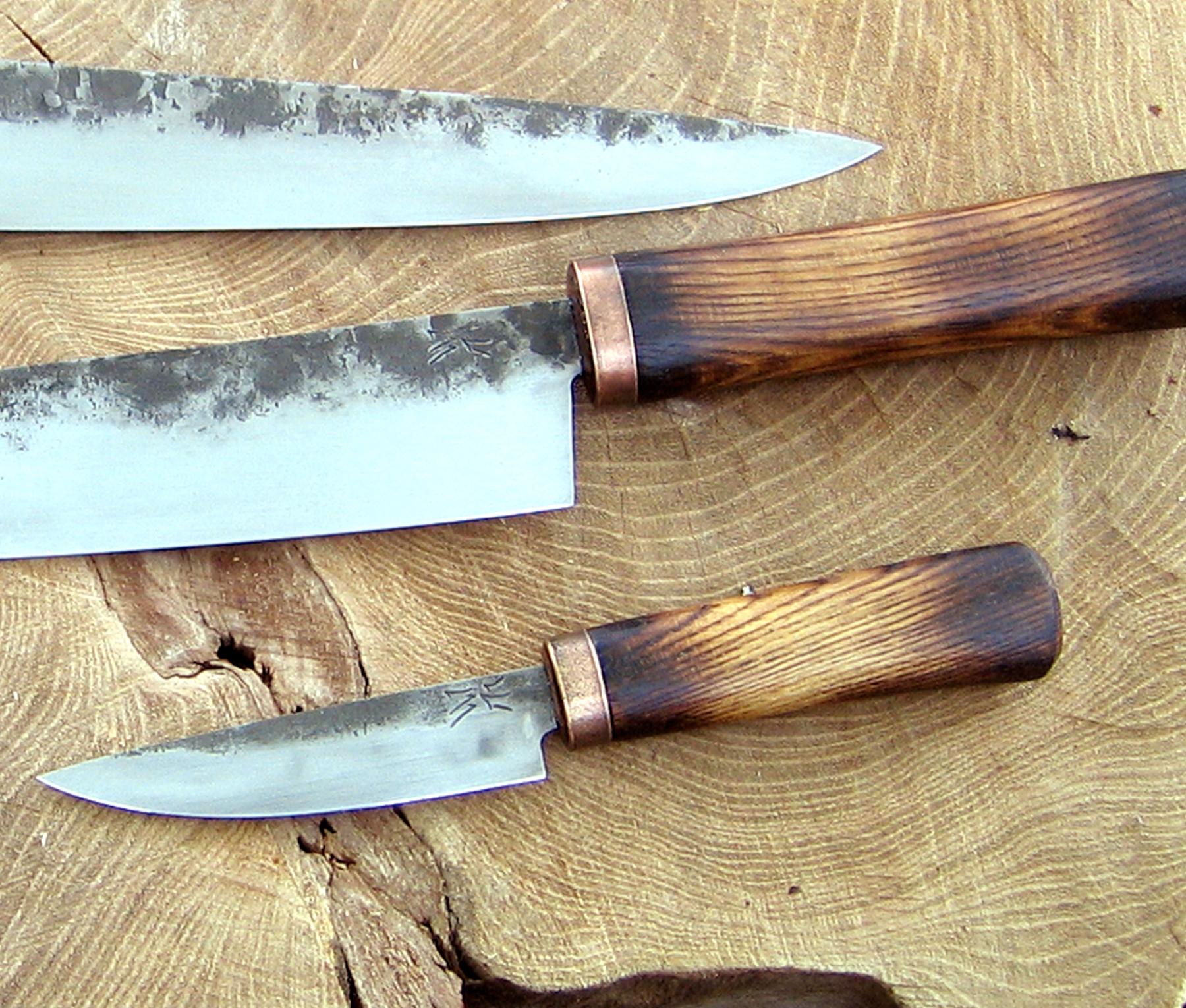 kitchen knives set best damascus knife wildertools by rick marchand