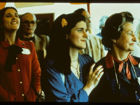 Lynda Johnson Robb, Luci Baines Johnson and Lady Bird Johnson
