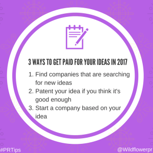 get paid ideas