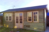 Bespoke Home Office  Wildforest Log Cabins