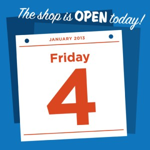 open friday jan 4th