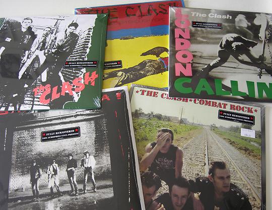 THE CLASH vinyl reissues