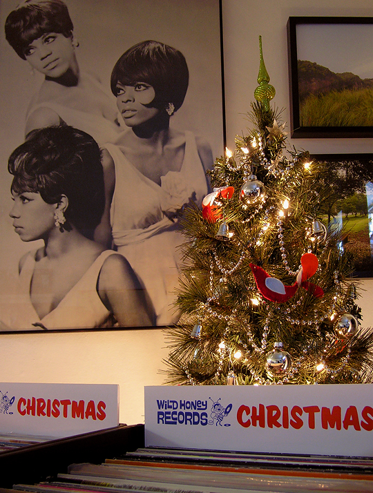 christmas vinyl is out now at wild honey records