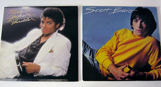 michael jackson thriller scott baio 1982 vinyl
