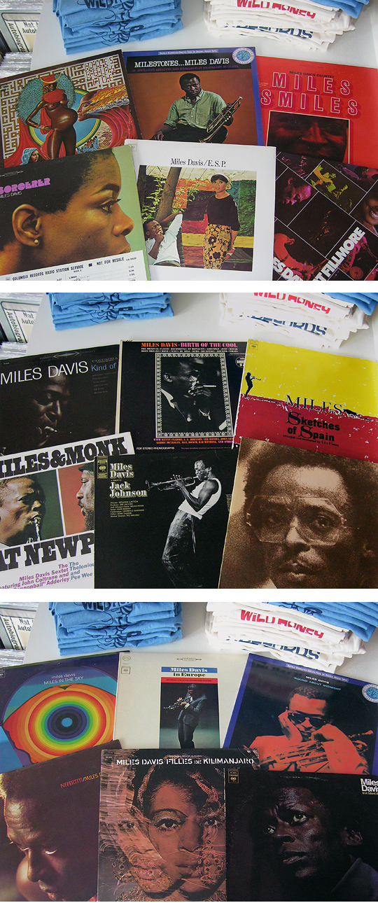 Miles davis vinyl records at Wild Honey