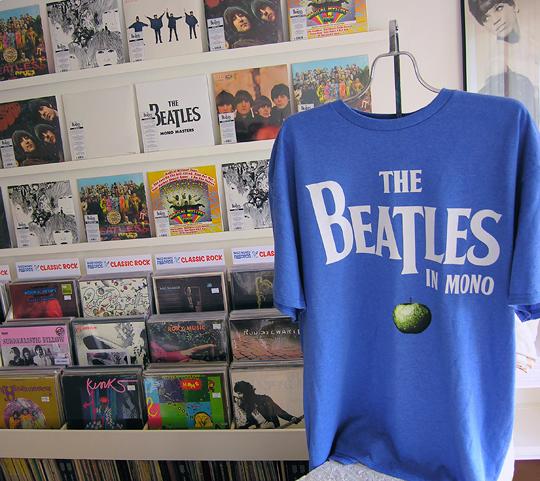 Beatles mono vinyl reissues at Wild Honey Records