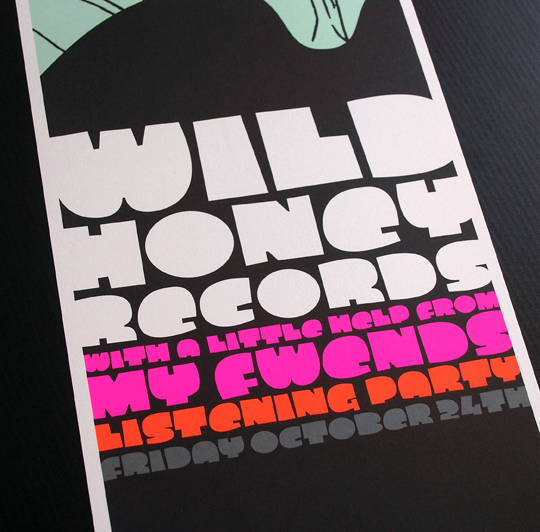 wild honey records listening party